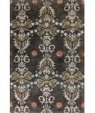 RugStudio presents Bashian Greenwich Cosmic Dance Grey Hand-Tufted, Good Quality Area Rug