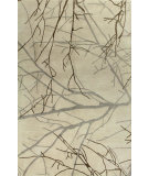 RugStudio presents Bashian Greenwich R129-Hg250 Ivory Hand-Tufted, Better Quality Area Rug