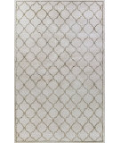 RugStudio presents Bashian Greenwich Lattice Ivory Hand-Tufted, Good Quality Area Rug