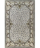 RugStudio presents Bashian Greenwich Wild Roman Ivory Hand-Tufted, Good Quality Area Rug
