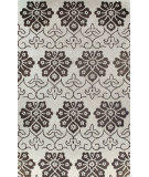 RugStudio presents Bashian Greenwich Ashante Ivory / Chocolate Hand-Tufted, Good Quality Area Rug