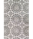 RugStudio presents Bashian Greenwich Starburst Ivory / Taupe Hand-Tufted, Good Quality Area Rug