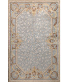 RugStudio presents Bashian Greenwich Wild Roman Light Blue Hand-Tufted, Good Quality Area Rug