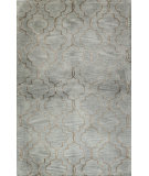 RugStudio presents Bashian Greenwich Veil Light Blue Hand-Tufted, Good Quality Area Rug