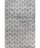 RugStudio presents Bashian Greenwich R129-Hg273 Light Blue Hand-Tufted, Better Quality Area Rug