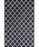 RugStudio presents Bashian Greenwich R129-Hg295 Navy Hand-Tufted, Better Quality Area Rug