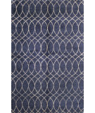 RugStudio presents Bashian Greenwich R129-Hg300 Navy Hand-Tufted, Better Quality Area Rug