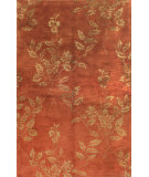 RugStudio presents Bashian Greenwich Serenity Paprika Hand-Tufted, Good Quality Area Rug