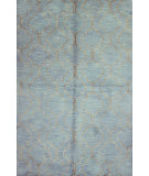 RugStudio presents Bashian Greenwich R129-Hg266 Sky Hand-Tufted, Better Quality Area Rug