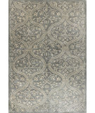 RugStudio presents Bashian Greenwich R129-Hg251 Slate Hand-Tufted, Better Quality Area Rug