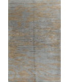 RugStudio presents Bashian Greenwich Tranquility Slate Hand-Tufted, Good Quality Area Rug