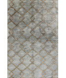 RugStudio presents Bashian Greenwich Modern Lozenge Slate Hand-Tufted, Good Quality Area Rug