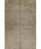 RugStudio presents Bashian Greenwich Grains Taupe Hand-Tufted, Good Quality Area Rug