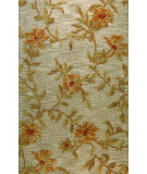 RugStudio presents Bashian Verona Lc110 Aqua Hand-Tufted, Better Quality Area Rug