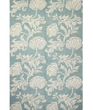 RugStudio presents Bashian Verona R130-Lc123 Aqua Hand-Tufted, Better Quality Area Rug