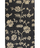 RugStudio presents Bashian Verona R130-Lc108 Black Hand-Tufted, Better Quality Area Rug