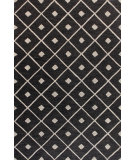 RugStudio presents Bashian Verona R130-Lc137 Black Hand-Tufted, Better Quality Area Rug