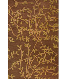 RugStudio presents Bashian Verona Lc107 Chocolate Hand-Tufted, Better Quality Area Rug