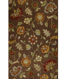 RugStudio presents Bashian Verona R130-Lc124 Chocolate Hand-Tufted, Better Quality Area Rug