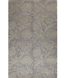 RugStudio presents Bashian Verona R130-Lc123 Grey Hand-Tufted, Better Quality Area Rug