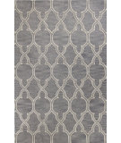 RugStudio presents Bashian Verona R130-Lc149 Grey Hand-Tufted, Better Quality Area Rug