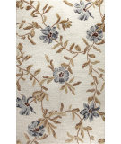 RugStudio presents Bashian Verona Lc110 Ivory Hand-Tufted, Better Quality Area Rug