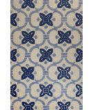 RugStudio presents Bashian Verona R130-Lc133 Ivory Hand-Tufted, Better Quality Area Rug