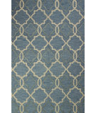 RugStudio presents Bashian Verona R130-Lc151 Light Blue Hand-Tufted, Better Quality Area Rug