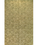 RugStudio presents Rugstudio Sample Sale 60295R Light Green Hand-Tufted, Better Quality Area Rug