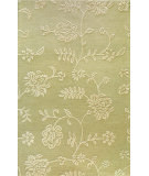 RugStudio presents Bashian Verona Lc108 Light Green Hand-Tufted, Better Quality Area Rug