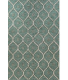 RugStudio presents Bashian Verona Honeycomb Light Green Hand-Tufted, Good Quality Area Rug