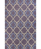 RugStudio presents Bashian Verona R130-Lc151 Lilac Hand-Tufted, Better Quality Area Rug