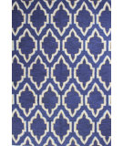 RugStudio presents Bashian Verona R130-Lc134 Navy Hand-Tufted, Better Quality Area Rug