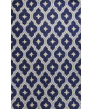 RugStudio presents Bashian Verona R130-Lc148 Navy Hand-Tufted, Better Quality Area Rug