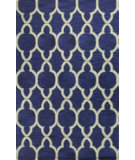 RugStudio presents Bashian Verona R130-Lc149 Navy Hand-Tufted, Better Quality Area Rug