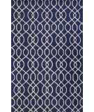 RugStudio presents Bashian Verona R130-Lc152 Navy Hand-Tufted, Better Quality Area Rug