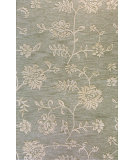RugStudio presents Bashian Verona Lc108 Teal Hand-Tufted, Better Quality Area Rug