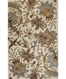 RugStudio presents Bashian Valencia Al101 Ivory Hand-Tufted, Better Quality Area Rug