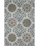 RugStudio presents Bashian Valencia R131-Bal142 Ivory Hand-Tufted, Better Quality Area Rug