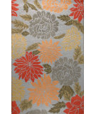 RugStudio presents Bashian Valencia Orchard Light Blue Hand-Tufted, Good Quality Area Rug