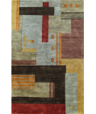 RugStudio presents Bashian Harmony Niko Multi Hand-Knotted, Good Quality Area Rug