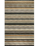 RugStudio presents Bashian Contempo Sh107 Black Hand-Tufted, Good Quality Area Rug