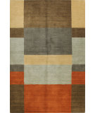 RugStudio presents Bashian Contempo Alm181 Multi Hand-Tufted, Good Quality Area Rug