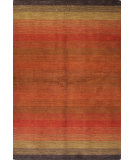 RugStudio presents Bashian Contempo Alm195 Red Hand-Tufted, Good Quality Area Rug