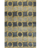 RugStudio presents Bashian Chelsea St108 Blue Hand-Tufted, Better Quality Area Rug