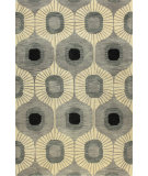 RugStudio presents Bashian Chelsea St103 Grey Hand-Tufted, Better Quality Area Rug