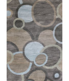 RugStudio presents Bashian Chelsea St113 Grey Hand-Tufted, Better Quality Area Rug