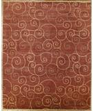 RugStudio presents Rugstudio Famous Maker 39355 Red Hand-Knotted, Best Quality Area Rug