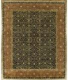 RugStudio presents Benjamin Rug Imports Ganges Fereghan Black-Red Hand-Knotted, Best Quality Area Rug