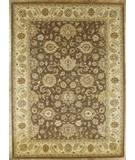 RugStudio presents Benjamin Rug Imports Impressions 4510 Brown-Beige Hand-Tufted, Best Quality Area Rug